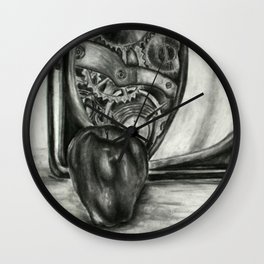 Apple Study 4 Wall Clock