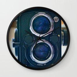 Yeshiva Double Lens Reflex Film Camera Wall Clock