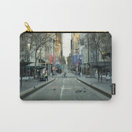 Melbourne CBD in Lockdown Carry-All Pouch