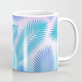 Feathers on Watercolor Background Coffee Mug