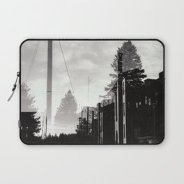 Ghostly Lines Laptop Sleeve