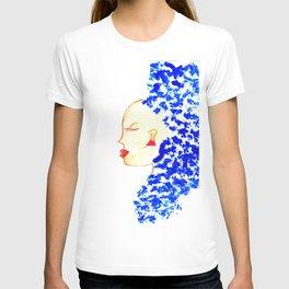 Blue Cleopatra T-shirt