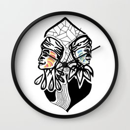CocoRosie Wall Clock