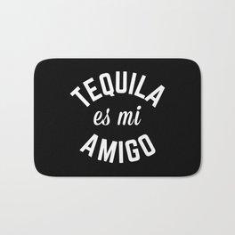 Tequila Es Mi Amigo Funny Quote Bath Mat