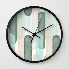 Relief #society6 #abstractart Wall Clock