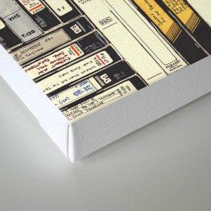 VHS Canvas Print
