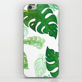 Watercolor Palms II iPhone Skin