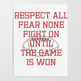 Show Some Respect Tshirt Designs RESPECT ALL Poster