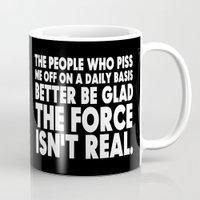 jedi Mugs featuring The Force  |  Jedi Humor by Silvio Ledbetter