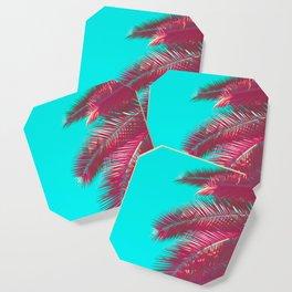 Neon Palm Coaster