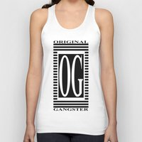gangster Tank Tops featuring ORIGINAL GANGSTER by Robleedesigns
