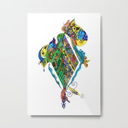 BeYond CoLor Metal Print