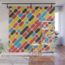 Colorful Trend Pattern Wall Mural