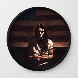 Lillie Mae - The American Girl Wall Clock