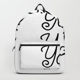YOGA YOGA YOGA Backpack