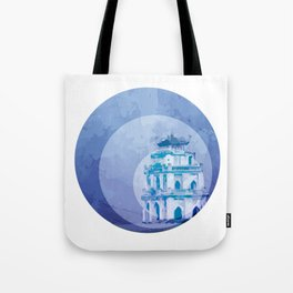 Vietnam Hoan Kiem Lake Hanoi Capital Tote Bag