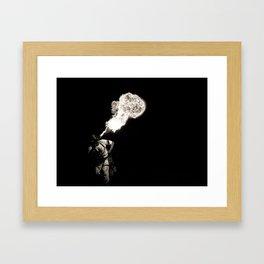 Fire Breather Framed Art Print