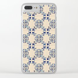 Tiles of Porto II Clear iPhone Case
