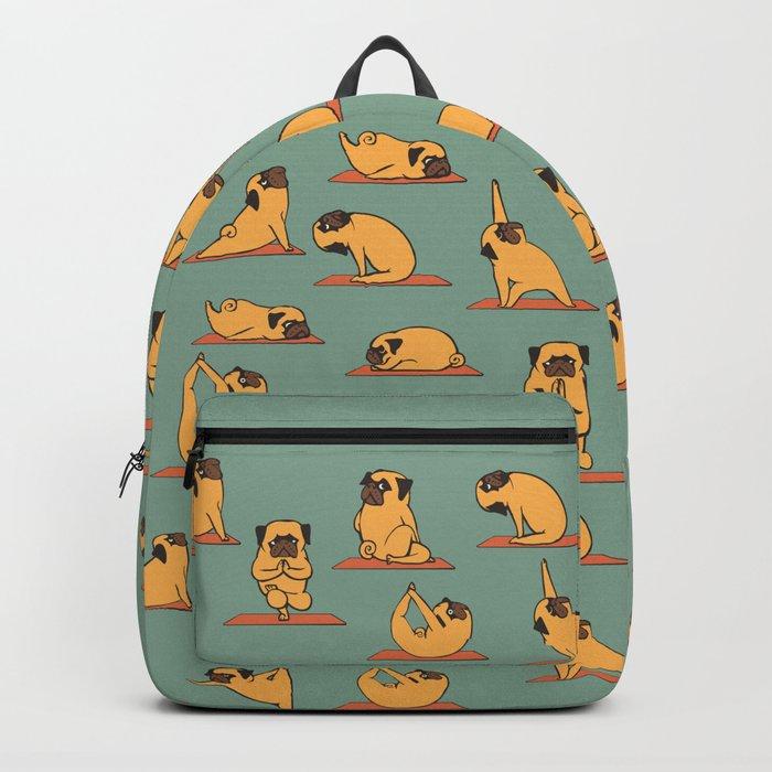 Pug Yoga Rucksack