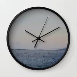 MIDNIGHT MEADOW Wall Clock