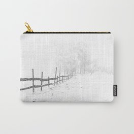 Fence and Snow Carry-All Pouch