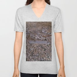 Rome in the Time of Constantine Unisex V-Neck