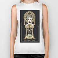 the great gatsby Biker Tanks featuring The Great Gatsby by Lindsay Hubbard
