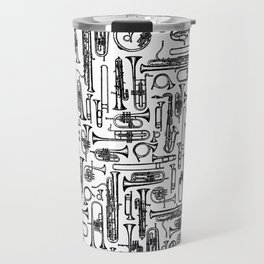 Horns B&W II Travel Mug