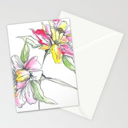 Floral Blush Stationery Cards