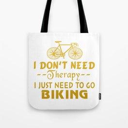 GO BIKING Tote Bag