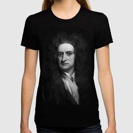 Sir Isaac Newton, 1702 T-shirt