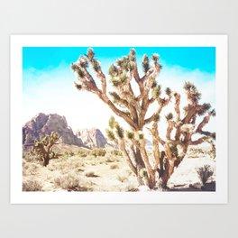 Joshua Tree Art Print