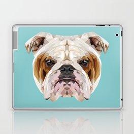 English Bulldog // Blue  Laptop & iPad Skin