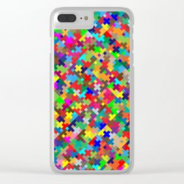 Tetris Clear iPhone Case