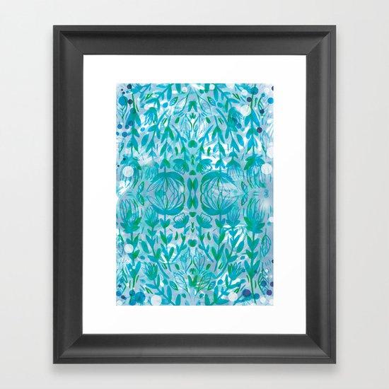 Winter is Here Framed Art Print