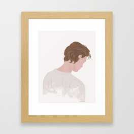 Skam | Even Bech Næsheim #2 Framed Art Print