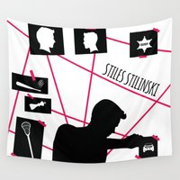 stiles Wall Tapestries featuring Stiles Stilinski by smartypants