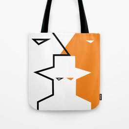 Geometric faces #society6 #decor #buyart #artprint Tote Bag