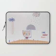 Rainy days Laptop Sleeve