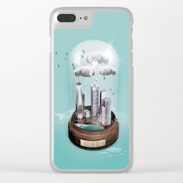 New York Dome Clear iPhone Case