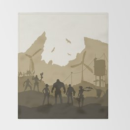 Borderlands Throw Blanket