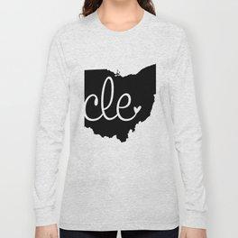 Love Cleveland Long Sleeve T-shirt