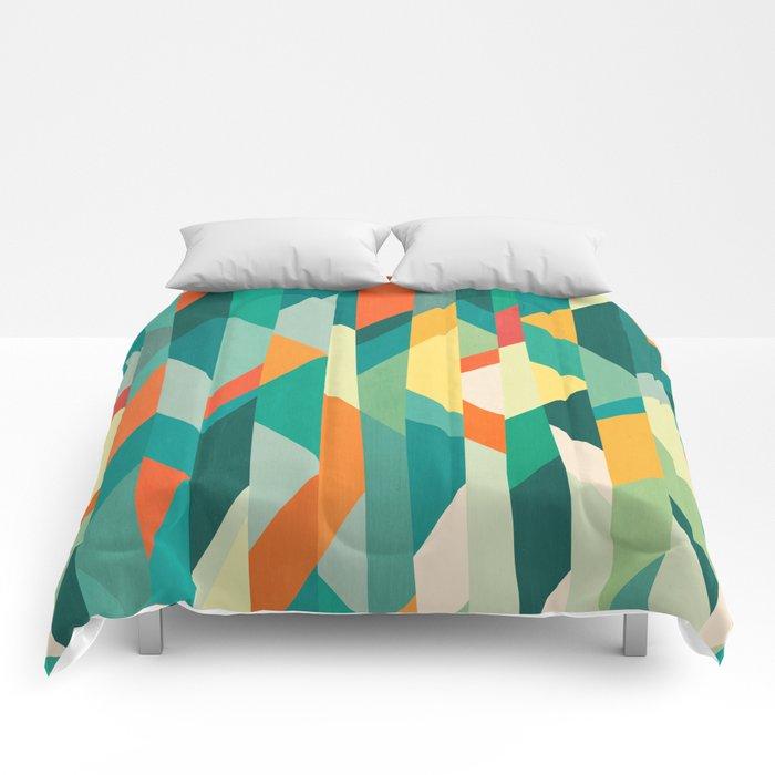 Broken Ocean Comforters