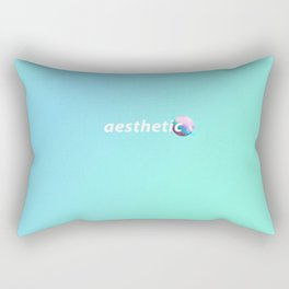 aesthetic planet Rectangular Pillow