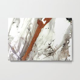 Of Snow and Stone Metal Print
