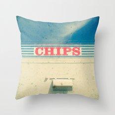 Chips Throw Pillow