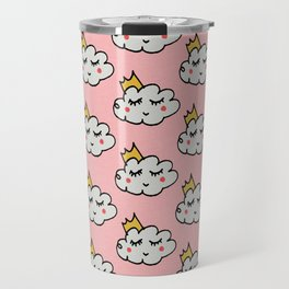 April showers king cloud Pink #nursery Travel Mug