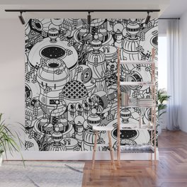 Dark Matter Space Machine Wall Mural