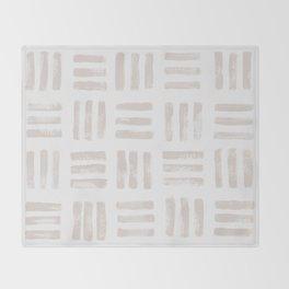 imprint Throw Blanket