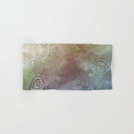 Universe Mandala Glow Hand & Bath Towel